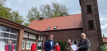 SPD Hatten setzt sich weiter fuer ein Buergerhaus im Gebaeude der alten Feuerwehr Sandkrug ein Foto Werner Fademrecht NWZ